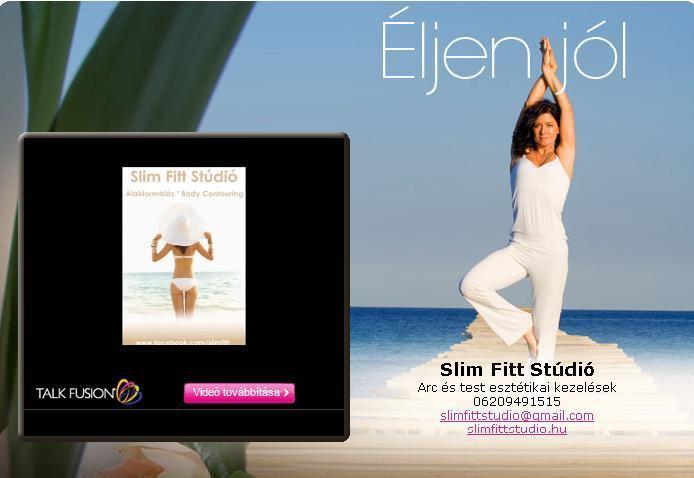 Slim Fitt Stúdió - Videó email